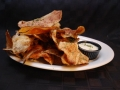 Steiny's Home made Chips with Garlic Ranch